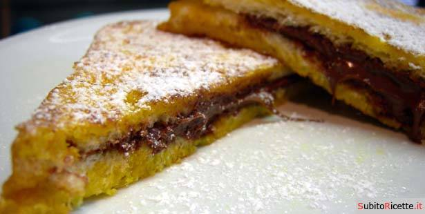 French toast farciti