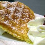 Waffle alle castagne